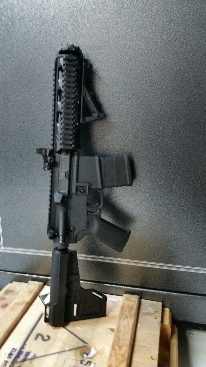 Finished my AR-PistolLoading that magazine is a pain! Get your Magazine speedloader today! http://www.amazon.com/shops/raeind