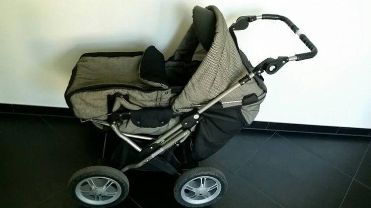Teutonia Kinderwagen Kombi Fußsack Softtragetasche Strampler Set gratis