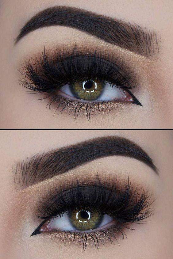 21 Sexy Smokey Eye Makeup Ideas to Help You Catch His Attention See more: glaminati.com/... #makeupideas #eyemakeupsmokey