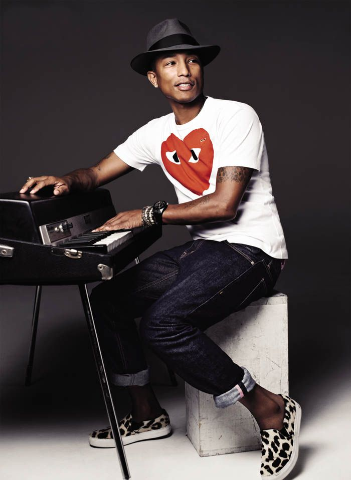 Pharrell Williams & PLAY COMME des GARÇONS T-shirt