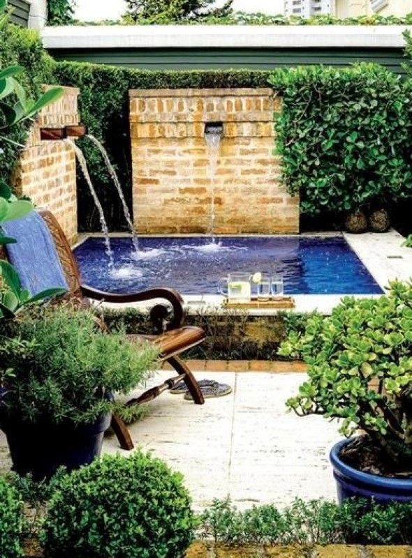 Piscina pequena finca in 2019 plunge pool swimming pools small backyard pools - Ver piscinas ...