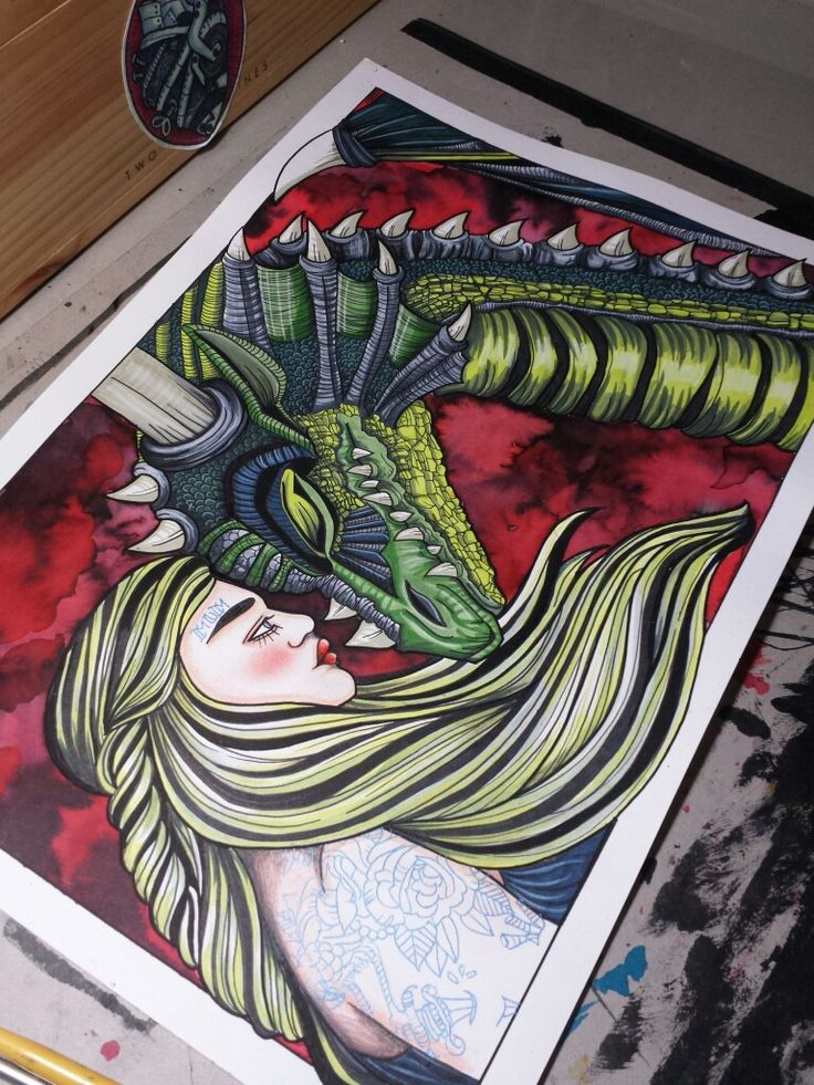 Kaleesi Mother of Dragons Game of Thrones artwork and prints @ ETSY SHOP https://www.etsy.com/au/shop/LaSueParlour