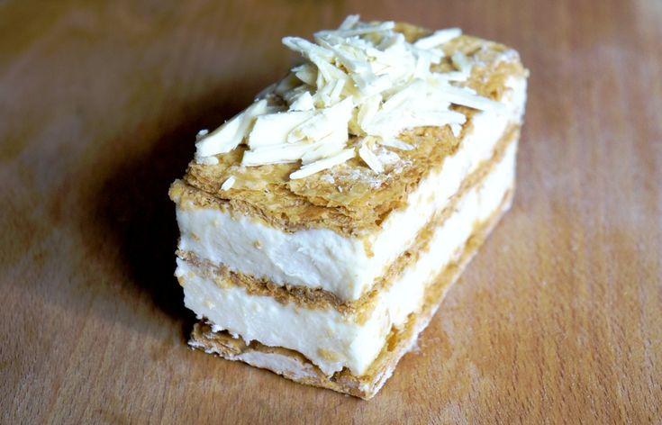 Μιλφέιγ με σύκα και ION Λευκή Κουβερτούρα   ION Sweets
