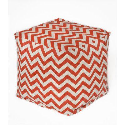Chevron Bean Bag Chair Upholstery: Orange - http://delanico.com/bean-bag-chairs/chevron-bean-bag-chair-upholstery-orange-640762518/