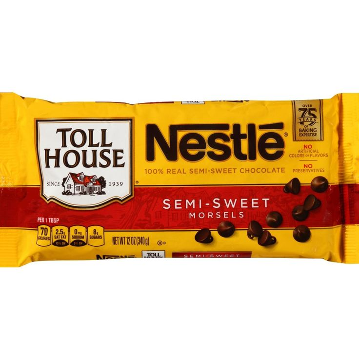 Nestle Toll House Real Semi-sweet Chocolate Morsels 12 Oz. Bag (Pack of 2) *** You can find out more details at the link of the image.