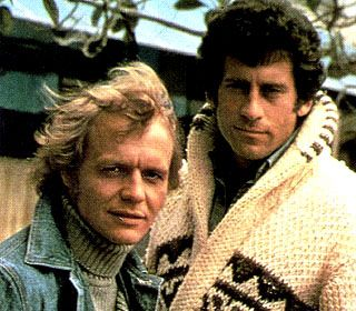 Starsky & Hutch - my sister LOVED David Soul so I got Paul Michael Glaser (who would have been my choice anyway, don't tell my sister)