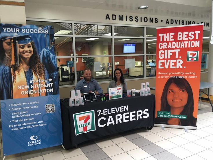 Jennifer and Jimmy showcasing the corporate career opportunities at Collin County Community College - Frisco!
