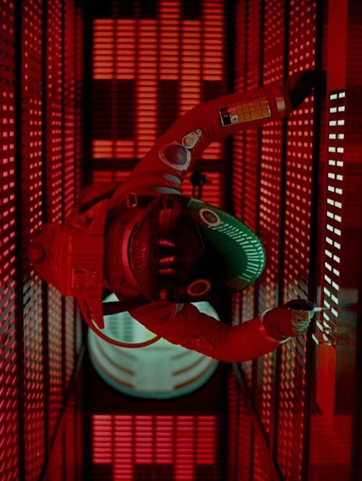 "Stanley Kubrick's 2001: A Space Odyssey (1968). Dave Bowman (Keir Dullea) shuts down HAL9000 while it sings ""Daisy"" ... and then discovers the true purpose of the Mission to Jupiter."