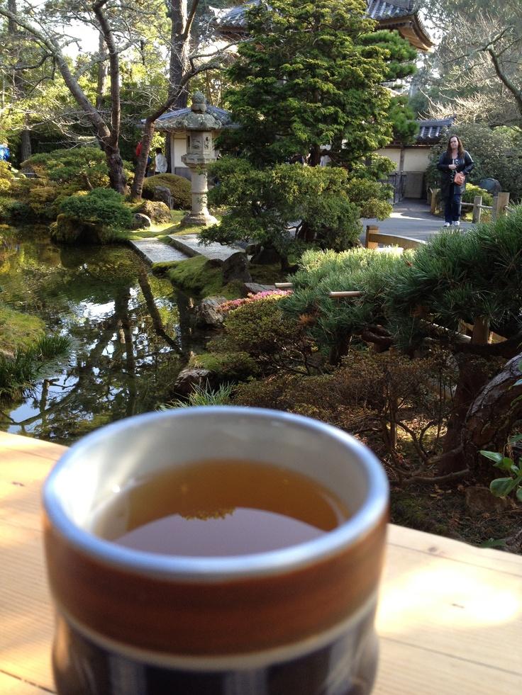 Tea in Japanese Tea Garden