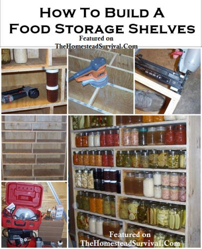 Best 25 Food Storage Shelves Ideas On Pinterest Canned
