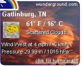 Get Gatlinburg weather updates
