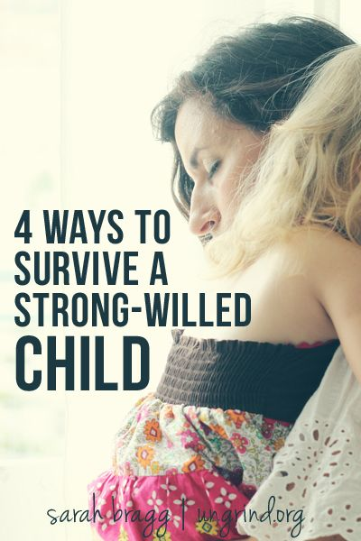 Surviving a Strong-Willed Child