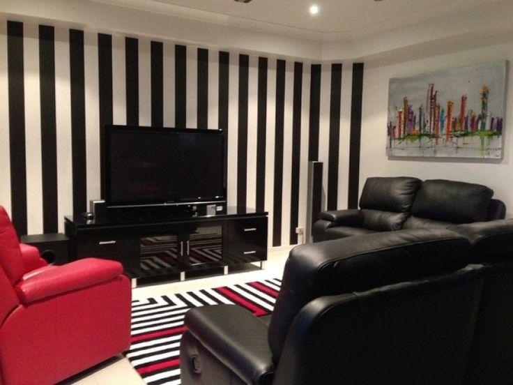 Living Room Wallpaper Ideas Red White Black92 best Living Room images on Pinterest   Kitchen lighting  . Red Living Room Wallpaper Ideas. Home Design Ideas