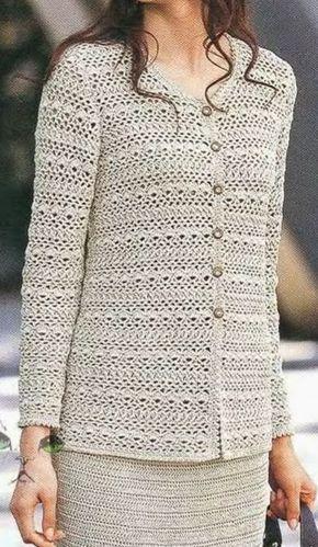 Irish crochet &: Женский костюм.