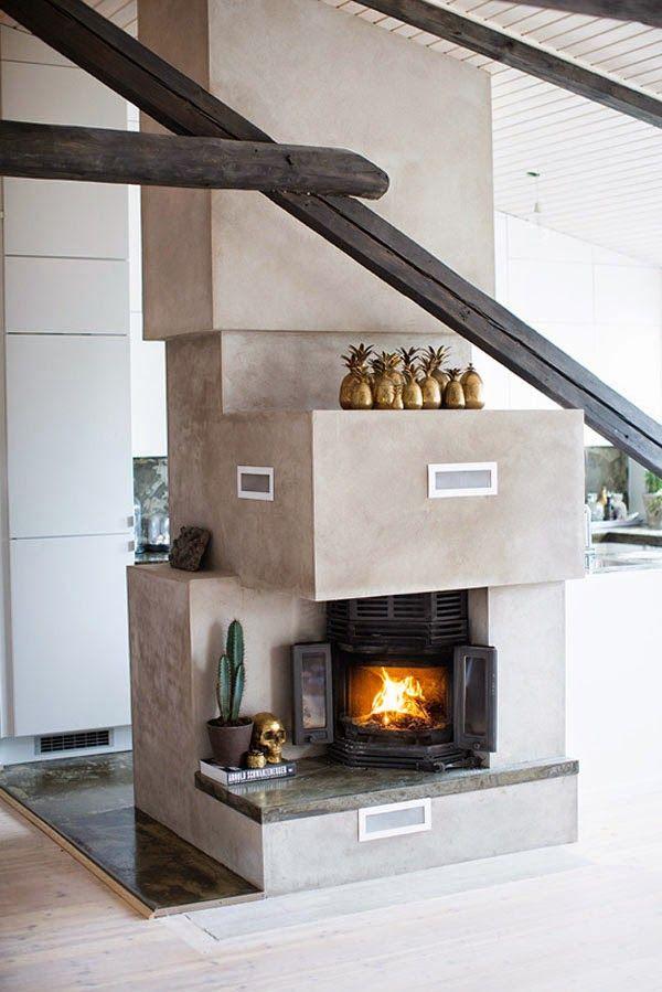 VINTAGE & CHIC: decoración vintage para tu casa · vintage home decor: Un apartamento tipo loft en Oslo · A loft apartment in Oslo