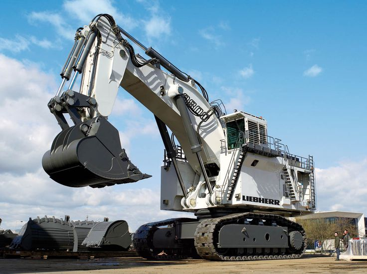 liebherr-r9800_layout    Worlds largest conventional excavating machine.