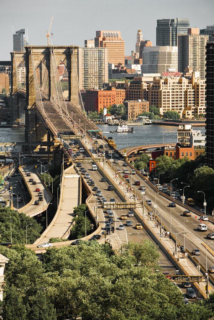 """Brooklyn Bridge"" by chapterthree on Flickr ~ The Brooklyn Bridge"