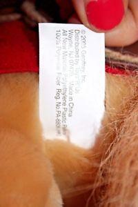 Wells Fargo Legendary Pony BUCK Released 2004 RARE Toys R US Stuffed Plush Horse