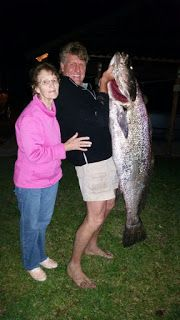 Fishing Report South Africa: 32 Kg Salmon - St Lucia Estuary Beach