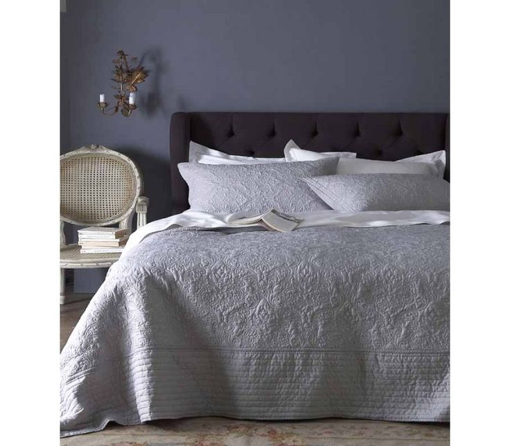 33 best bedspreads greys to blacks images on Pinterest ... : gray quilted bedspread - Adamdwight.com