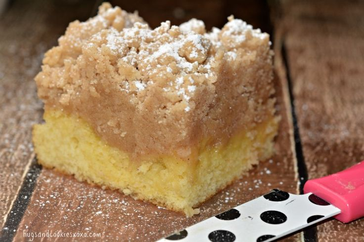 Shortcut Crumb Cake Recipe Butter Cake Slices And