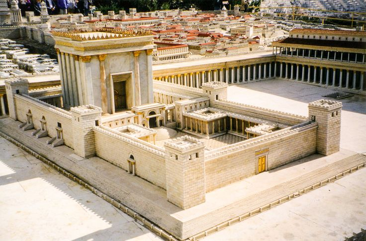 50:1 model of the Second Temple in Jerusalem