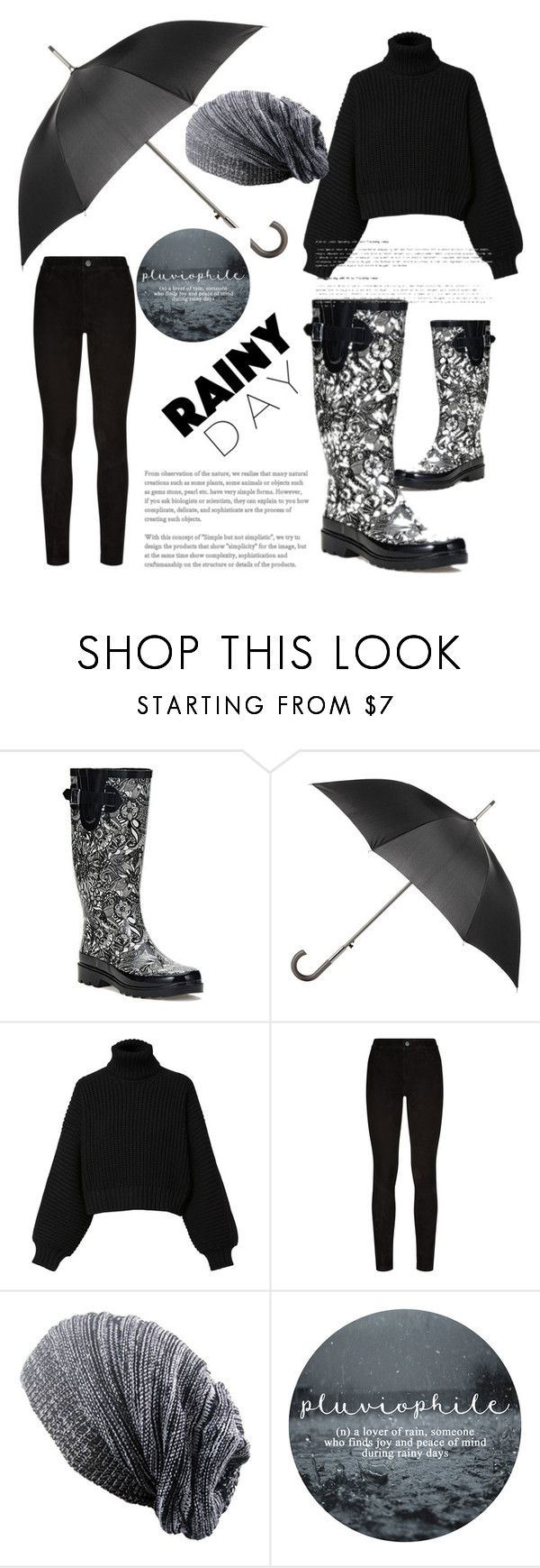 """rain days"" by admira-ismail ❤ liked on Polyvore featuring Sakroots, Totes, Diesel and Paige Denim"