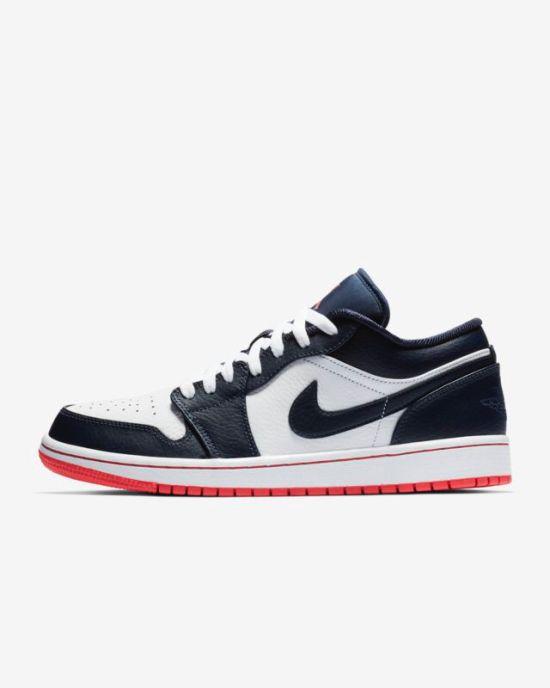ece6a4e7c2d6 Air Jordan Aj1 Low 553558-121 Shoes in 2019