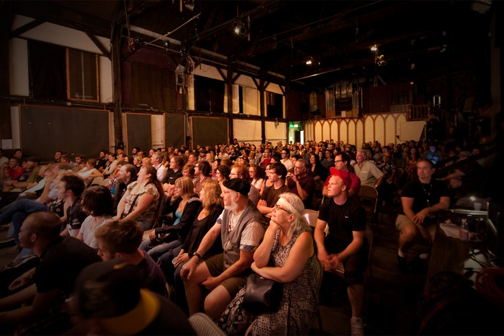Inside the Osborn & Woods Hall at the Miners Foundry during the NCFF Comedy Show