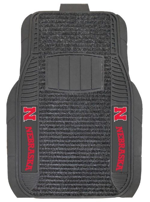 Nebraska Cornhuskers Car Mats - Deluxe Set