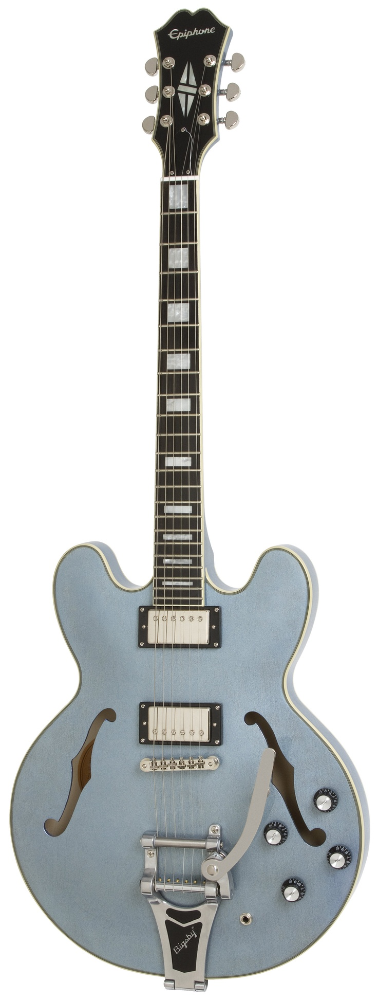 It will be mine, oh yes . . . ltd ed Epiphone ES-355 in Pelham Blue!
