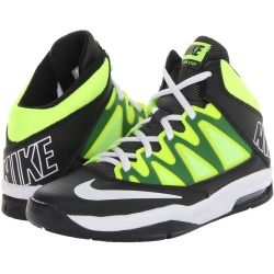 Nike Kids - Air Max Stutter Step (Big Kid) (Black/Volt/