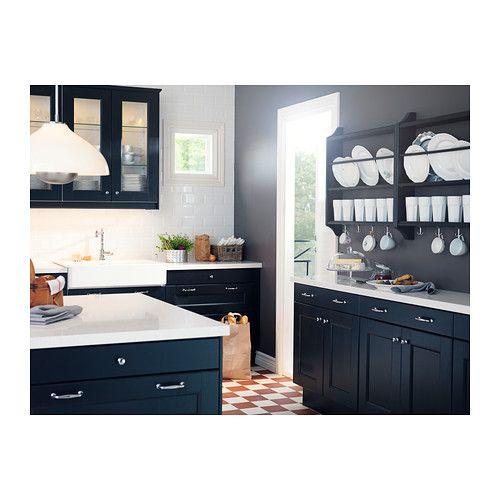 Ikea Black Kitchen Cabinets: 26 Best IKEA BODBYN Images On Pinterest