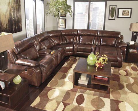 Ashley Furniture U992 Sectional. Beautiful at any angle ...