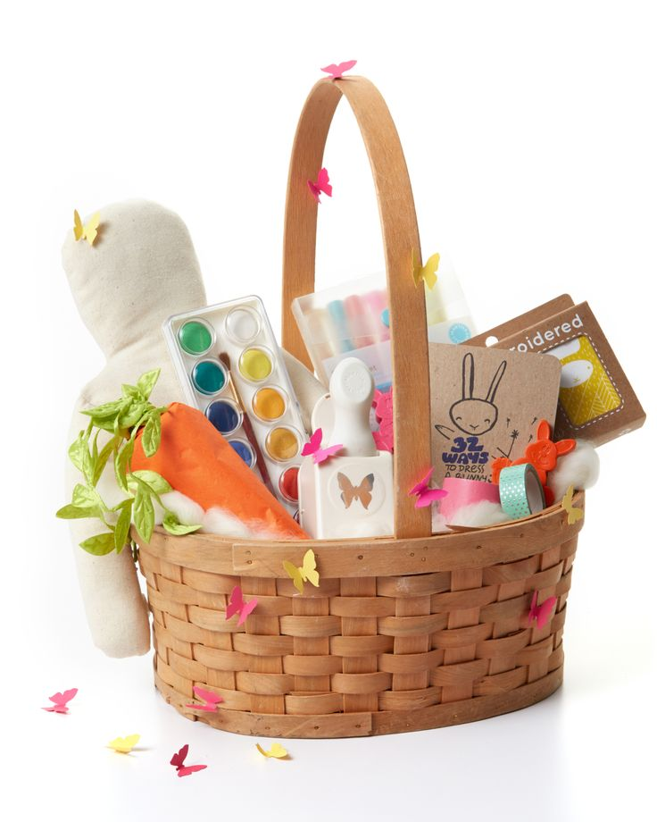 11 Creative and Colorful Easter Basket Ideas for Girls | Martha Stewart