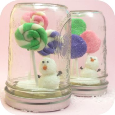 cookie candyland mason jar snow globes COOKIES: Ball Jars, Candy Snowglob, For Kids, Cakes Pop Donuts Hole Ideas, Snow Globes, Decor Cookies, Cupcakes Cookies, Kids Cupcakes, Cookies Candyland Mason Jars