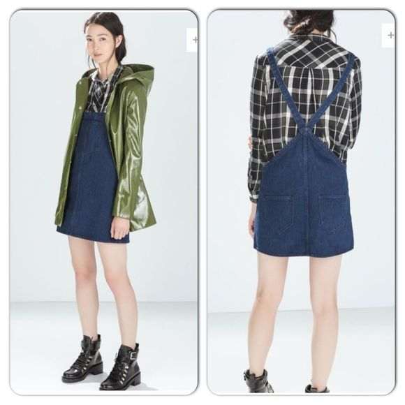 Zara Spring Denim Jumper Dress M M Zara Denim Dress M. Brand new With Tags. NO TRADES Zara Dresses
