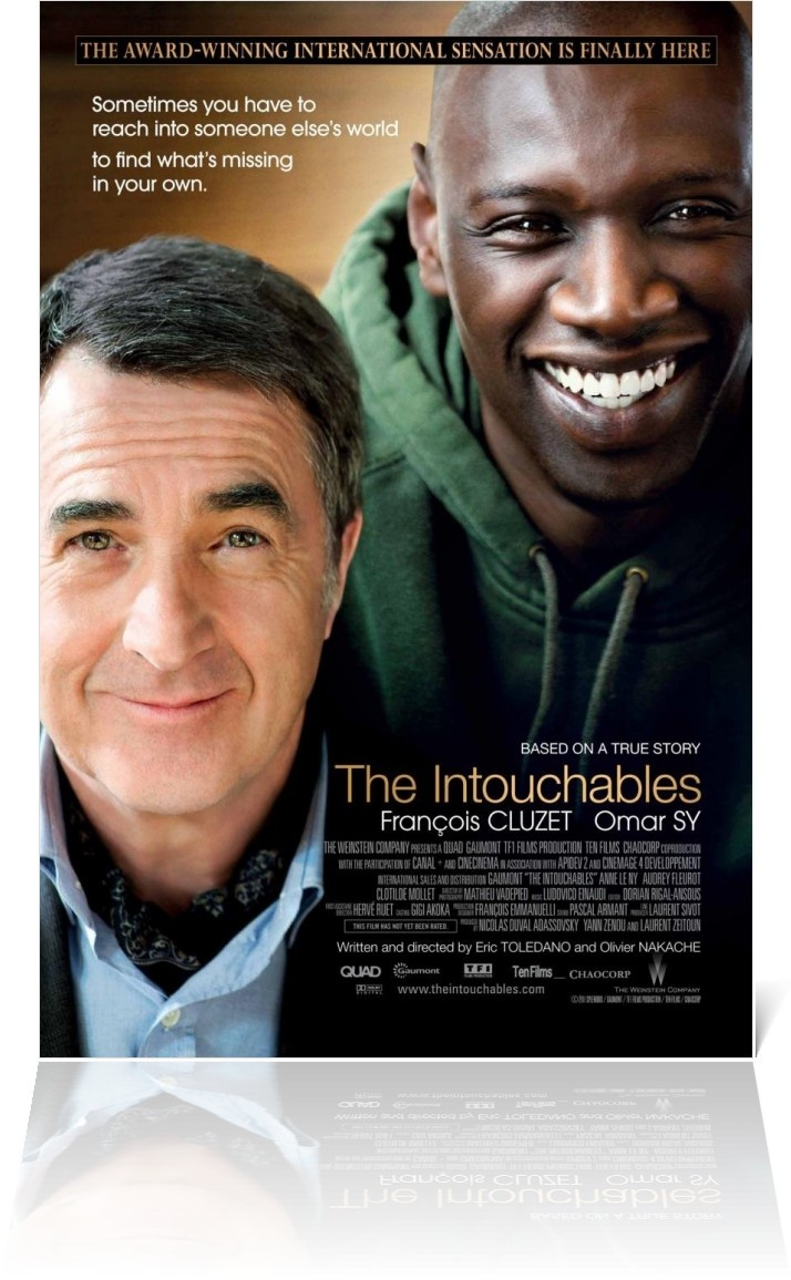 """""""the intouchables"""" a film of true humanity The intouchables is a 2011 french comedy-drama film directed by olivier nakache  movie review: the intouchables  brought together and healed with humanity,."""