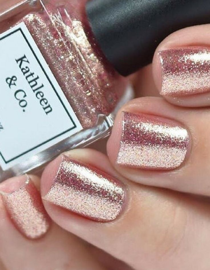 Rose-Gold Digger - Rose gold Nail Polish