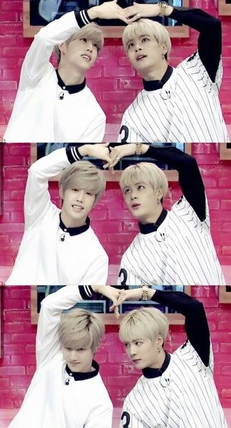 Markson! Why was this heart such a struggle? I know who Jackson Wang would blame. #GOT7 #Markson