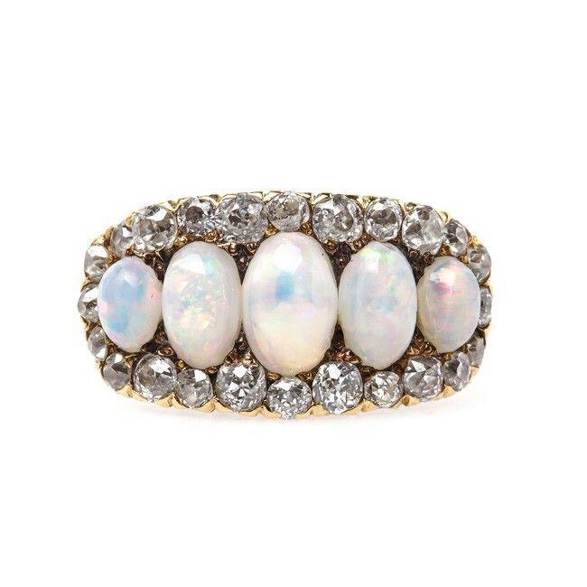 Lavan Hammered Sterling Silver Ring With Purple Opal - UK U - US 10 1/4 - EU 62 3/4 4DqfNXL4