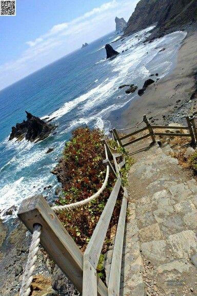 Playa de Benijo, Anaga, Tenerife, Islas Canarias