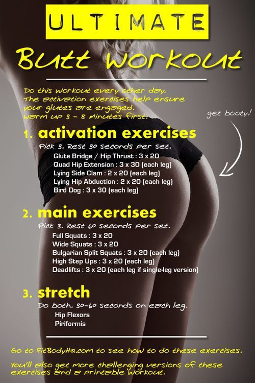 The Ultimate Butt Workout