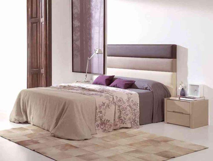 cabecero tapizado ld desiree c con tres colores de polipiel y para todas las medidas de