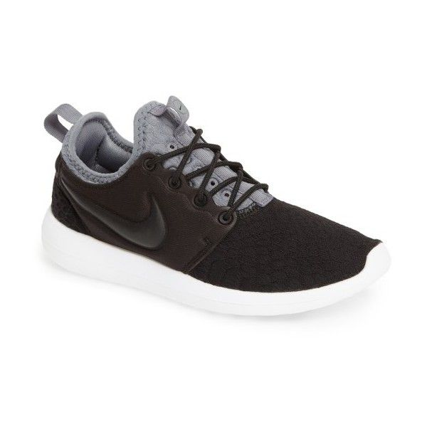 Women's Nike Roshe Two Se Sneaker ($100) ❤ liked on Polyvore featuring shoes, sneakers, traction shoes, nike trainers, light weight shoes, nike footwear and lightweight sneakers