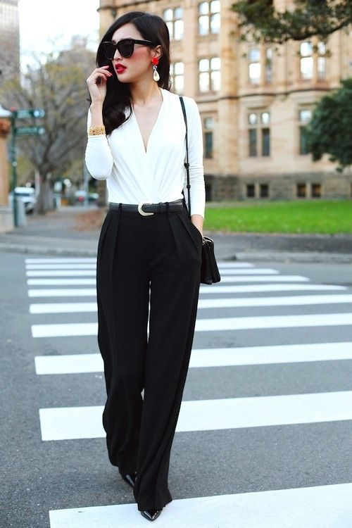 Great ensemble, though I'd wear a camisole underneath as a personal preference.