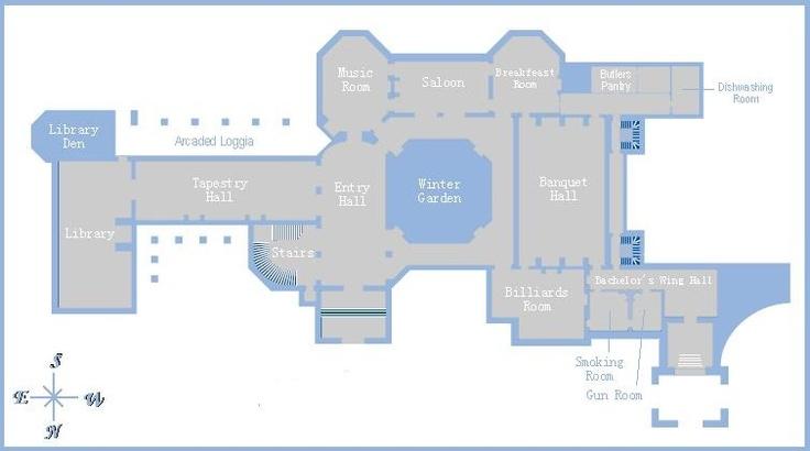 52825c3cf3fa3fd73cd7c22cf943880c large houses biltmore estate biltmore estate 1st floor gilded era mansion floor plans,Biltmore House Plans
