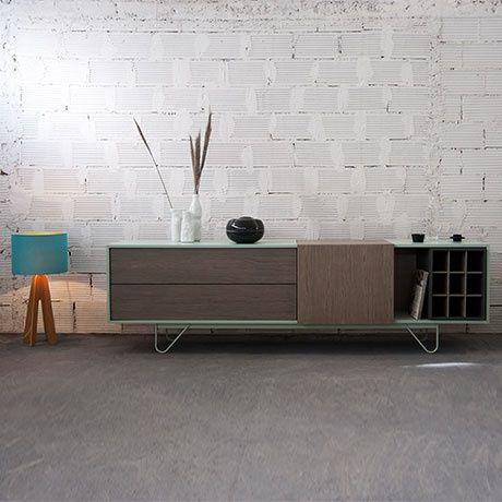 vintme sideboard by al2 monoqi furniture industrial design pinterest metals metal. Black Bedroom Furniture Sets. Home Design Ideas