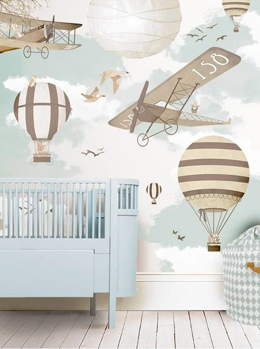 Find Inspiration To Create A Plane Themed Room With The Latest