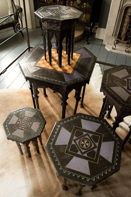 5x Moroccan tables in from Alex Macarthur | bohemian